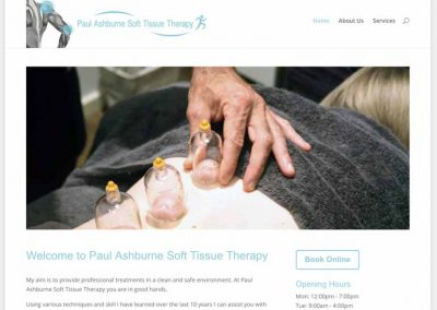 Paul Ashburne Sports Massage
