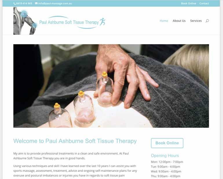 Paul Ashburne Sports Massage