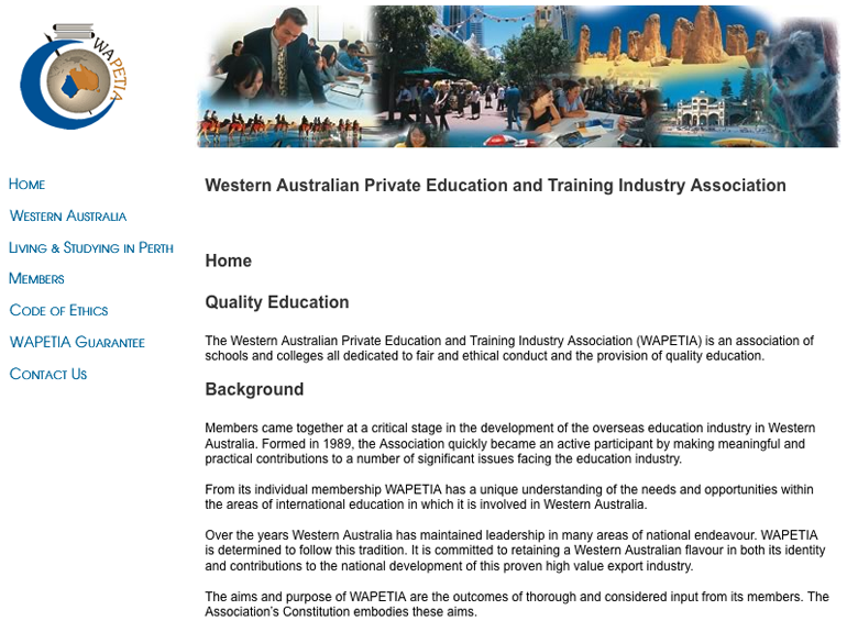 Western Australian Private Education and Training Industry Association