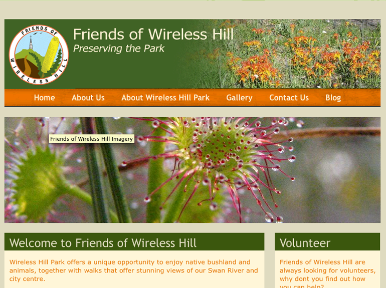 Friends of Wireless Hill Park